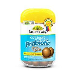 Nature's Way Kids Smảt Probiotic Choc Balls - Kẹo lợi khuẩn cho trẻ (50 viên)