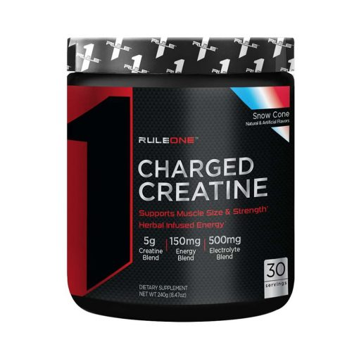 Rule 1 Charged Creatine 30 lần dùng (280g)