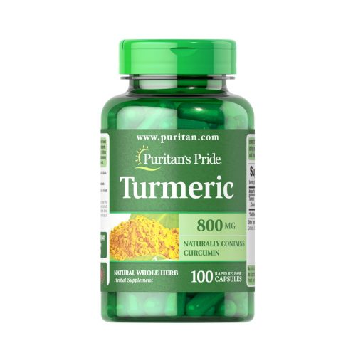 Puritan's Pride Turmeric (naturally contains Curcumin) 800mg