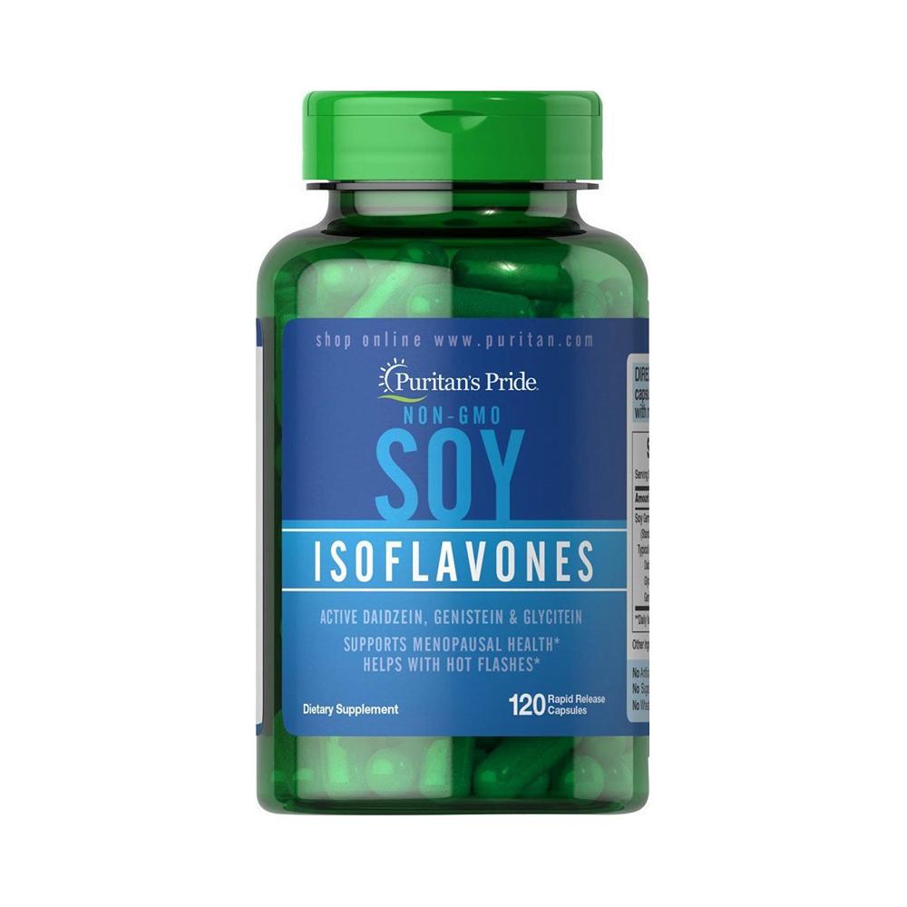 Tinh chất mầm đậu nành Puritan's Pride Soy Isoflavones Non-GMO
